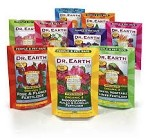 Dr. Earth fertilizer and amendments